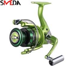 Fishing Spinning Reel 10BB 5.2:1 Pesca Carretilha Peche Metal 2000-7000 Tackle