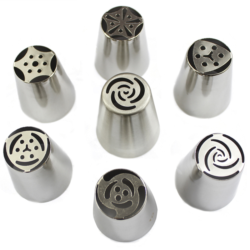 Russian Nozzles Tulip Tips Icing Piping Nozzles