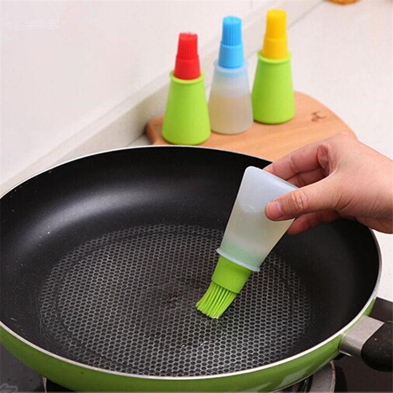 Силиконовая кисть для масла выпечки кисти жидкие масла ручка торт Масло Хлеб Кондитерская кисти для барбекю безопасность посуды для сметания крошек Кухня инструменты