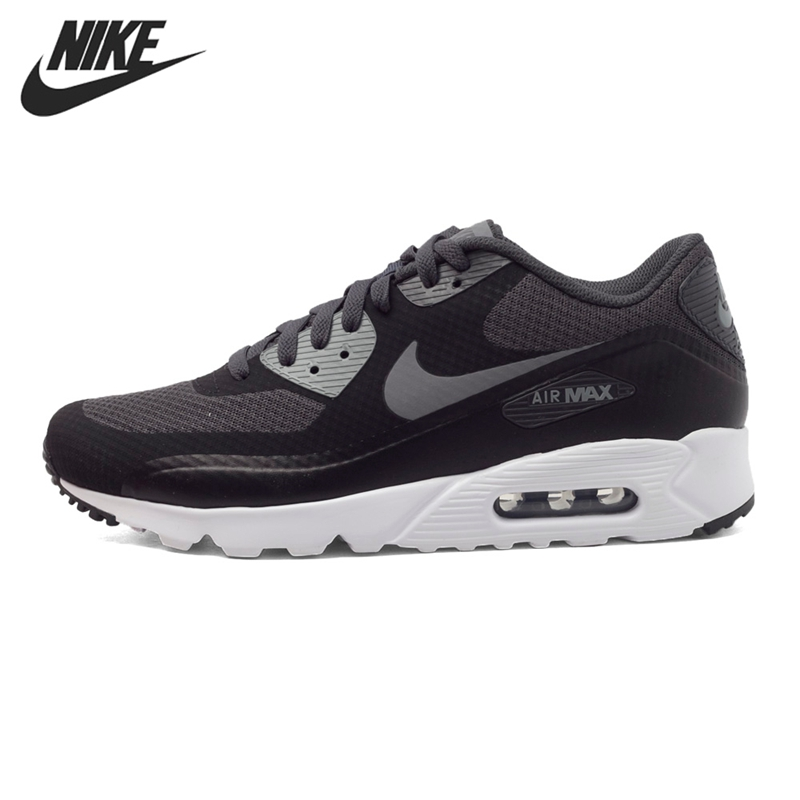 Original New Arrival 2016 NIKE AIR MAX 90 ULTRA ESSENTIAL Men\u0026#39;s Running Shoes Sneakers free shipping