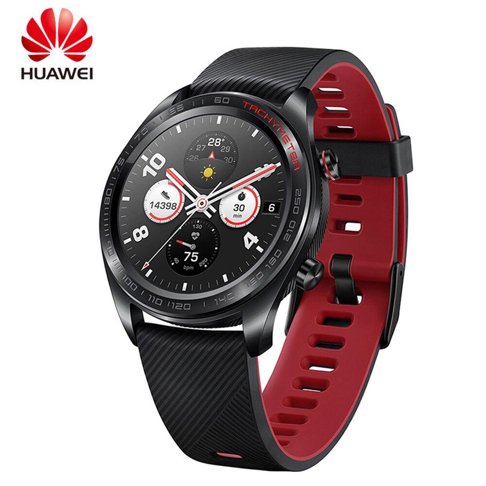 HUAWEI HONOR montre intelligente gloire magique conception légère étanche AMOLED couleur écran GPS NFC paiement intelligent rappel SmartWatch