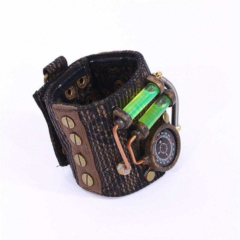 Steam Punk Style Retro Bracelets Fashion Jewelry Bracelets for Women Leather Comfortable Bracelets & Bangles Gifts Wholesale цены онлайн