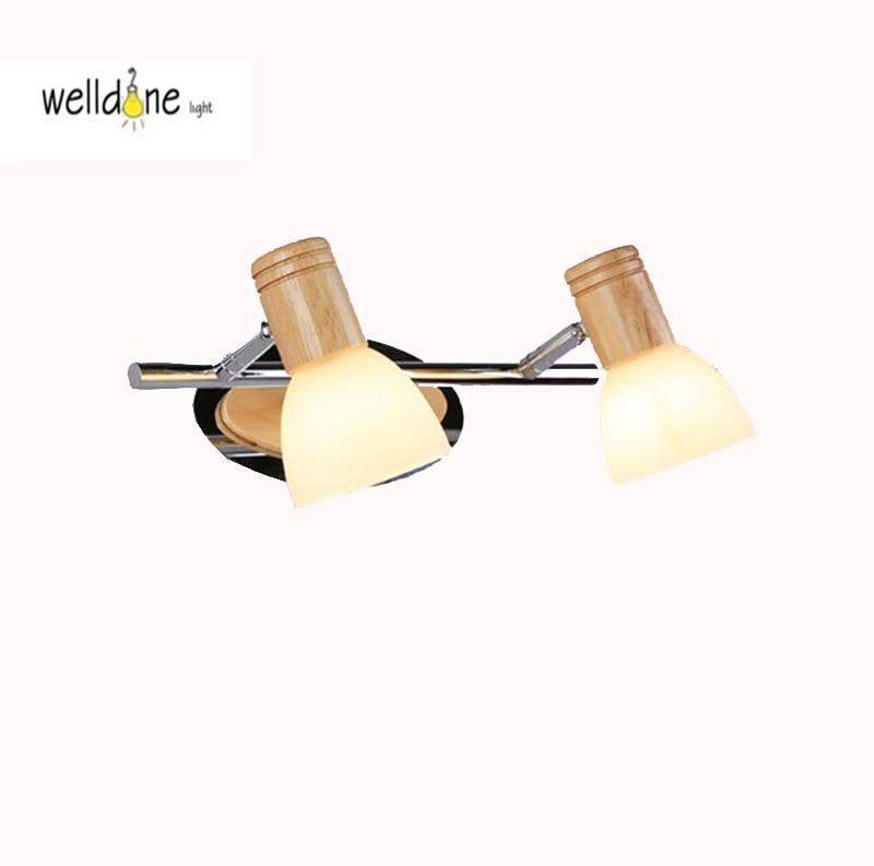 LED bathroom vanity wall mounted lamp waterproof antifogging glass lamp modern style AC85-265V