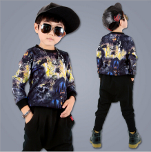 Children Clothing Sportswear Sets New Baby Boys Sports Suit Spring Autumn Sweatshirts+Harem Pants Kids Boy Clothes Suit 2pcs/set