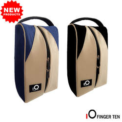 Одежда высшего качества сумка для обуви для гольфа Deluxe холщовые с застежкой-молнией сумка большая сумка Баскетбол Футбол центр подарок