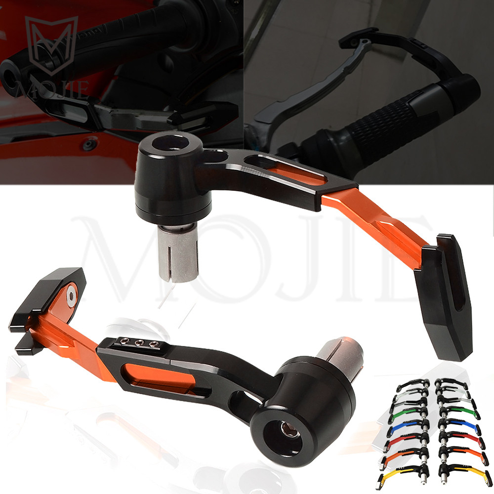 Motorcycle Hand Guard Handle Protection Motorbike Hand Guards Scooter For KTM 125 200 250 290 390 690 DUKE R 790 DUKE 2018 UP motorcycles adjustable steering stabilizer damper for kawasaki z800 z1000 yamaha tmax500 530 ktm duke 250 990 superduke 690 duke