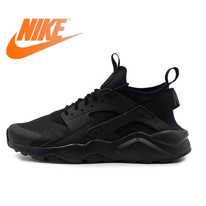 Originale NIKE AIR HUARACHE RUN ULTRA Traspirante uomini Runningg Scarpe Sneakers Classiche Scarpe Da Tennis All'aperto Scarpe Confortevole Resistente