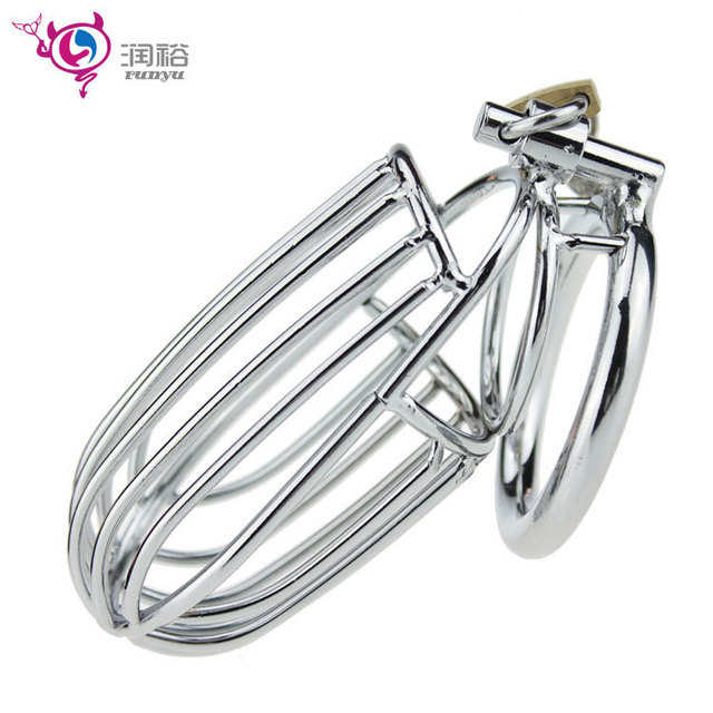Men's locking penis chastity cages erotic sexual health products Adult male chastity device cock cage penis lock cage
