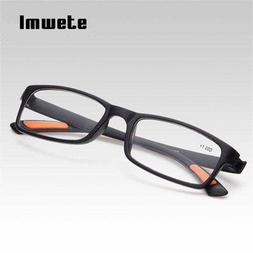 Reading Glasses Men Women TR90 Prescription Glasses Resin elder HD Reading Presbyopic Glasses 1.0 1.5 2.0 2.5 3.0 4.0 1