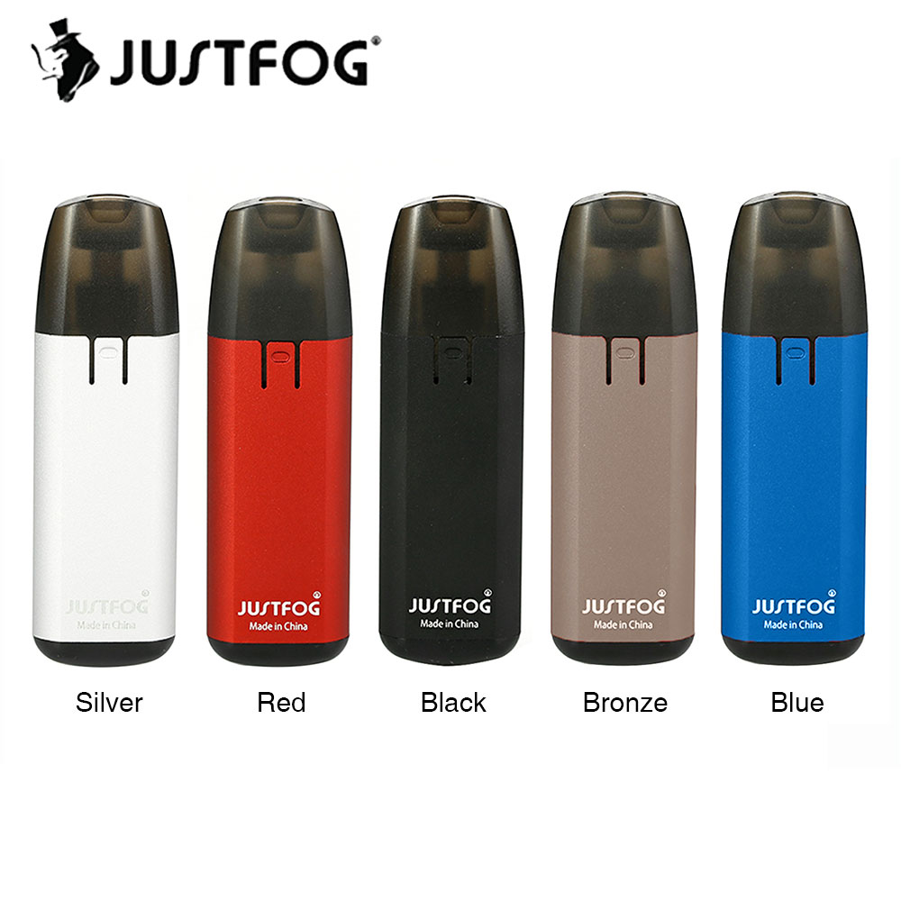 Originale JUSTFOG MINIFIT Starter Kit 370 mAh con 1.5 ml Cartuccia Riutilizzabile & Built-In 370 mAh Batteria E-cig Vape Mini JUSTFOG