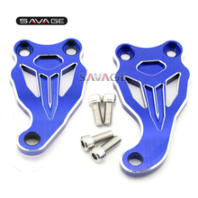 For Yamaha MT07/FZ07 MT-07/FZ-07 2014 2015 2016 Blue Motorcycle Accessories Fixed Frame & Engine Mounting Bracket Slider Cover for yamaha mt 07 mt07 fz 07 fz07 2014 motorcycle motorbike frame slider crash pads falling protection motorcycle accessories