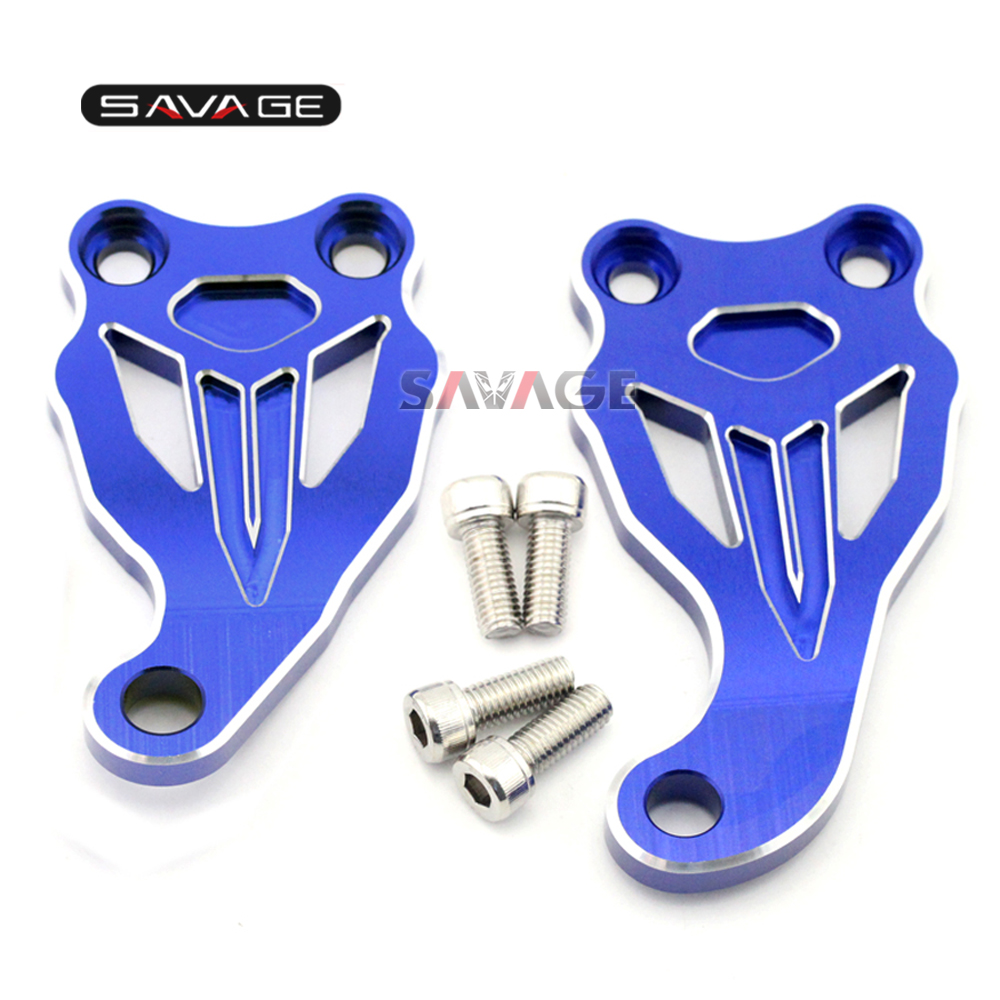 For Yamaha MT-07 FZ-07 MT07 FZ07 2014-2017 15 16 Motorcycle Accessories Fixed Frame & Engine Mount Bracket Slider Cover motorcycle accessories fixed frame and engine mounting bracket slider cover for yamaha mt07 fz07 mt 07 fz 07 2014 2016 blue