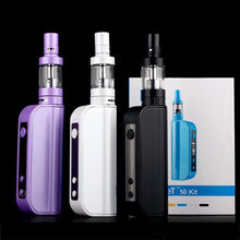 ECT ET 50 Kit 50W box mod electronic cigarettes E cig 2.5ml mini fog airflow control 2200mah atomizer e cigarette et50 Vape
