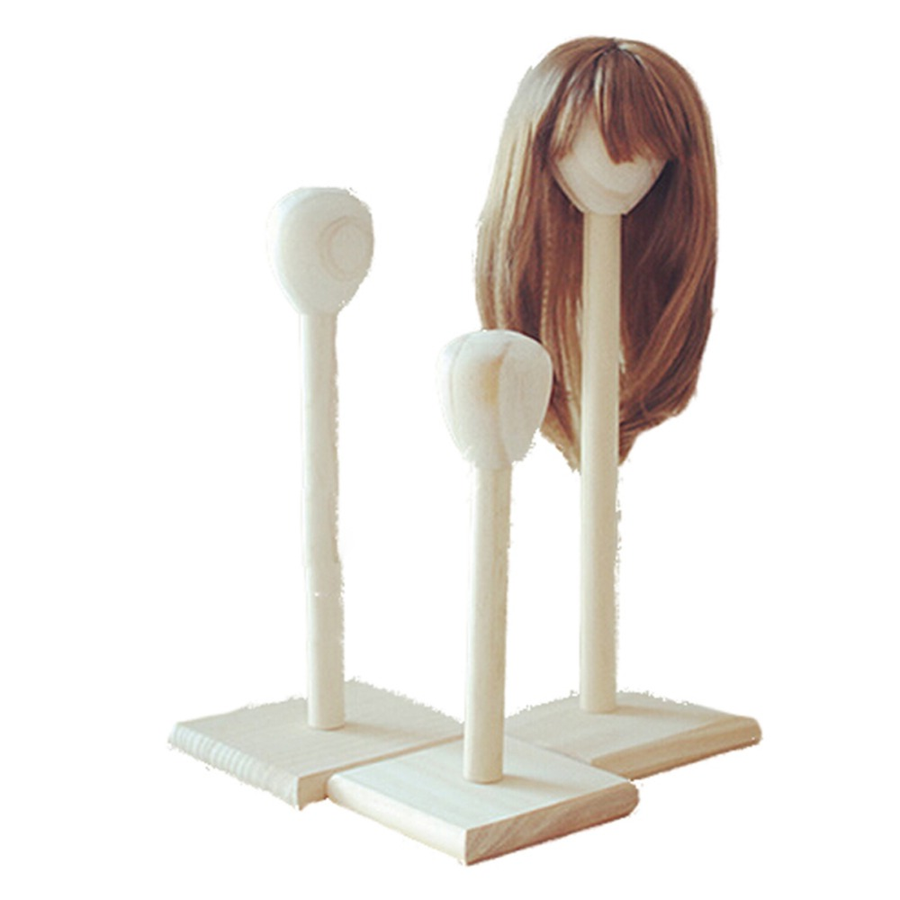 Popular Wooden Wig Stand