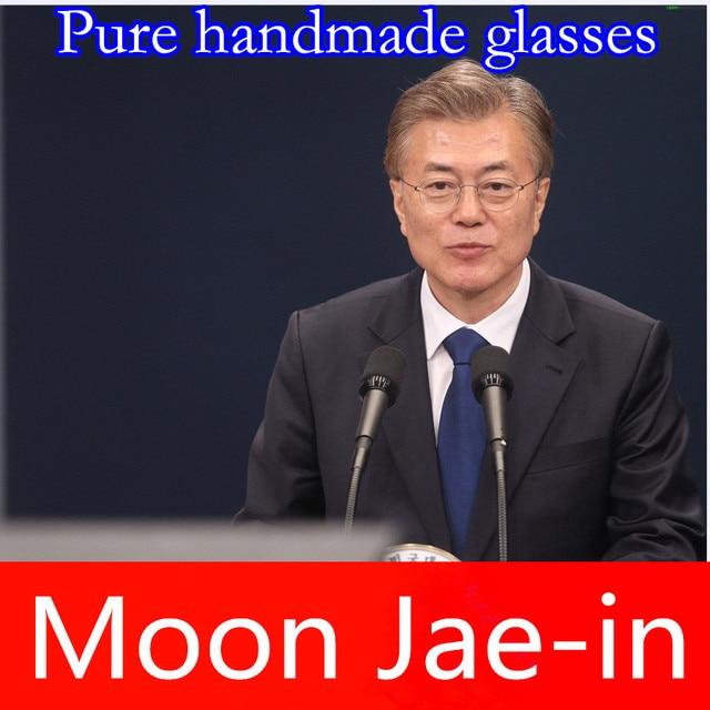 창조적 인 대형 프레임 안경 혁신적인 나사없는 안경 브랜드 초경량 근시 안경 남성 안경 비즈니스 올리버 안경