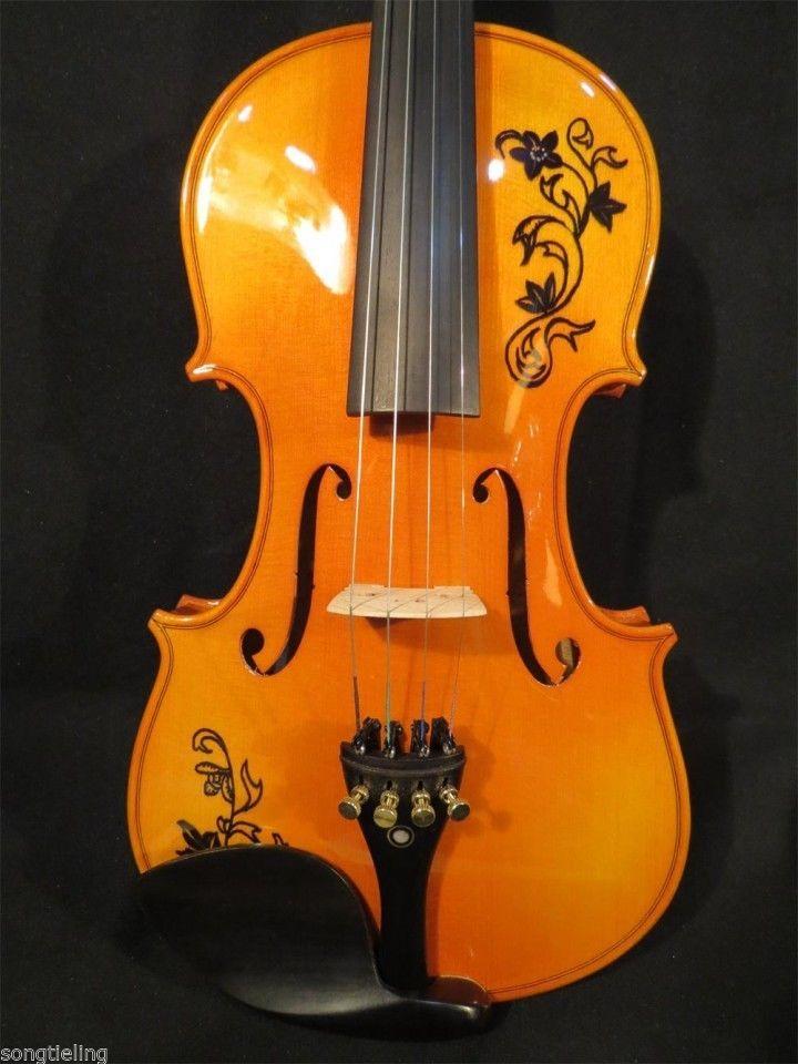 Strad Estilo De Marca Cancao Maestro Desenho 4 4 Violino Som