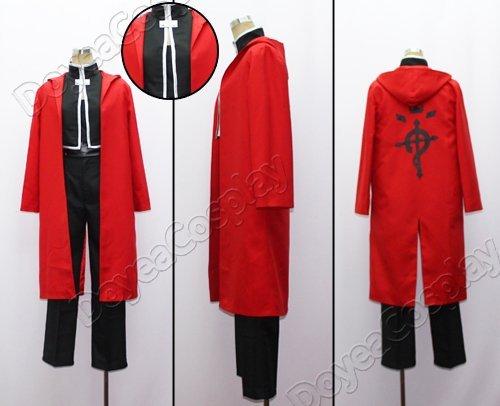 FullMetal Alchemist  Edward Elric 02 Cosplay Costume