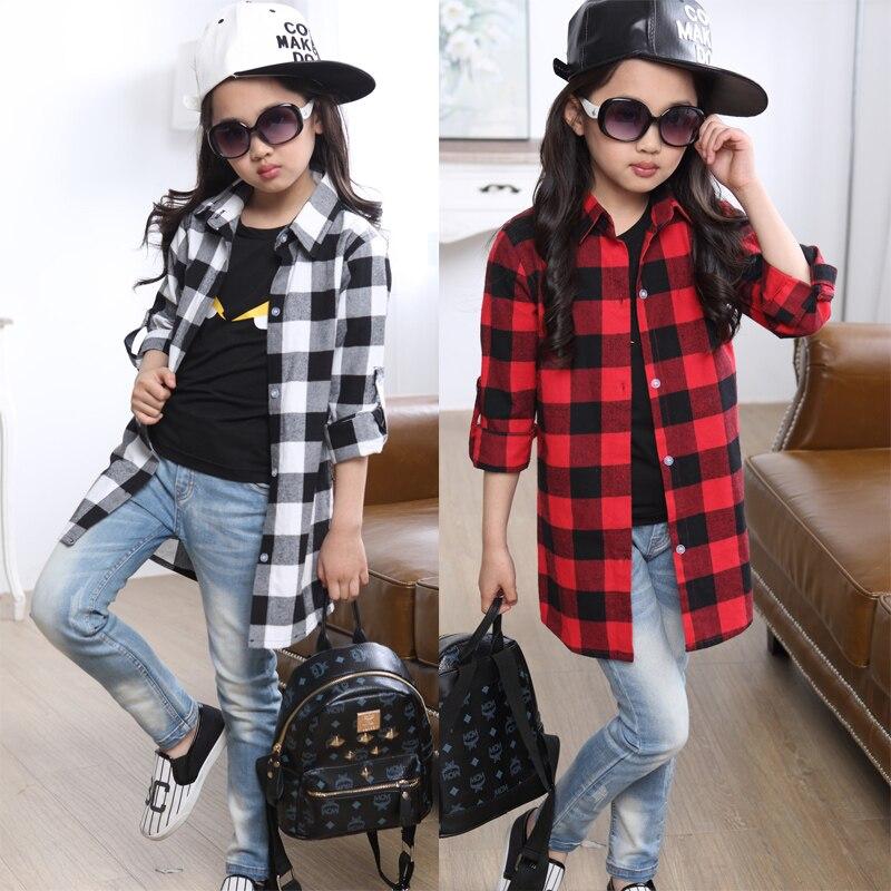 Աղջիկներ վերնաշապիկ երեխաներ աշուն - Մանկական հագուստ