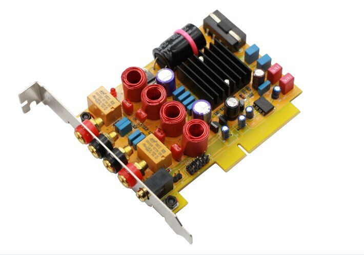 Nouveau FEIXIANG fièvre amplificateur numérique TPA3116D2 conseil ordinateur mises à niveau creux inductance livraison gratuite