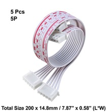 Uxcell 5pcs 20cm Long JST XH Adapter Cable Female to Female