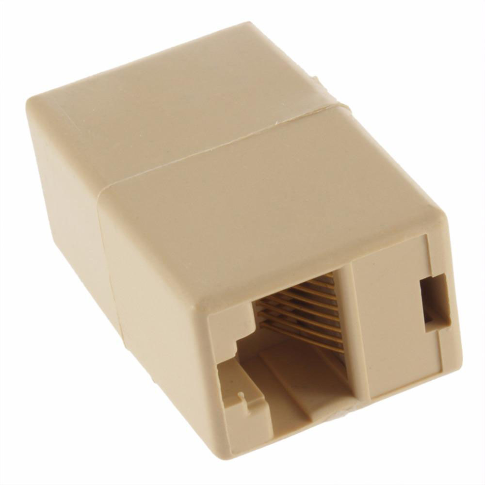 Image 2 - RJ 45 SOCKET RJ45 Splitter Connector CAT5 CAT6 LAN Ethernet Splitter Adapter Network Modular Plug For PC Lan Cable-in Computer Cables & Connectors from Computer & Office