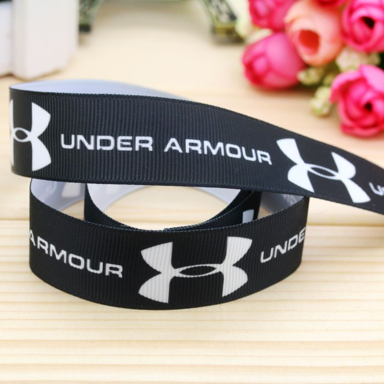 DUWES 7/8'' Free Shipping  Printed Grosgrain Ribbon Hair Bow Headwear Party Decoration Wholesale OEM 22mm H4936