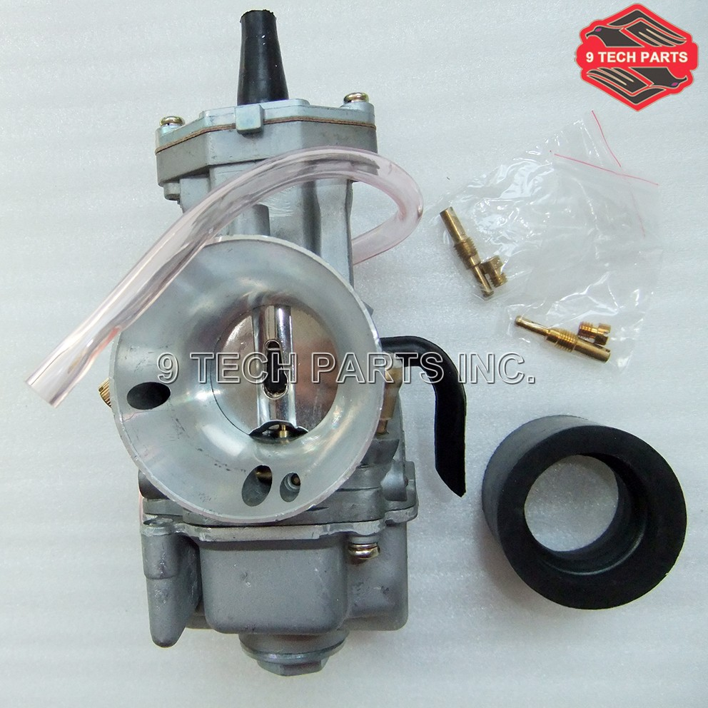 Universal 2T 4T Performance Racing Carburetor OKO Motorcycle Power Jet Quick Speedup Save Fuel Carburetor 21mm 24mm 26mm Carb.