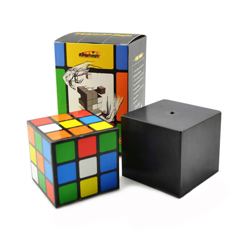 High Quality Triple Cube Magic Instant Restore Magic Props Stage Magic Cube Illusion Amazing Toys Tricks