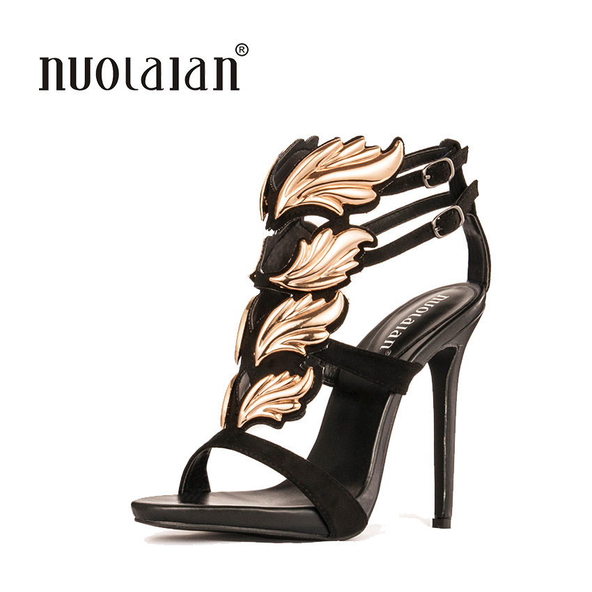 Brand fashion women pumps leaf flame high heel pumps shoes for women sexy peep toe high heels sandals party wedding shoes woman 2018 spring pointed toe thick heel pumps shoes for women brand designer slip on fashion sexy woman shoes high heels nysiani