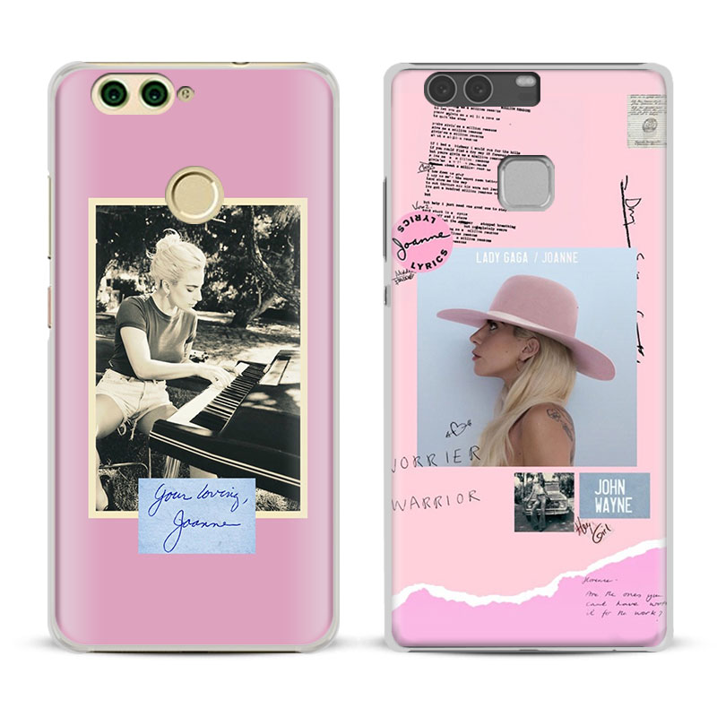 Lady JOANNE GAGA Fashion Phone Case For Huawei P8 9 10 Lite 2017 Honor 6x 8 V8 V9 v10 Mate 7 8 9 10 Pro Nova Plus 2 Cover Shell