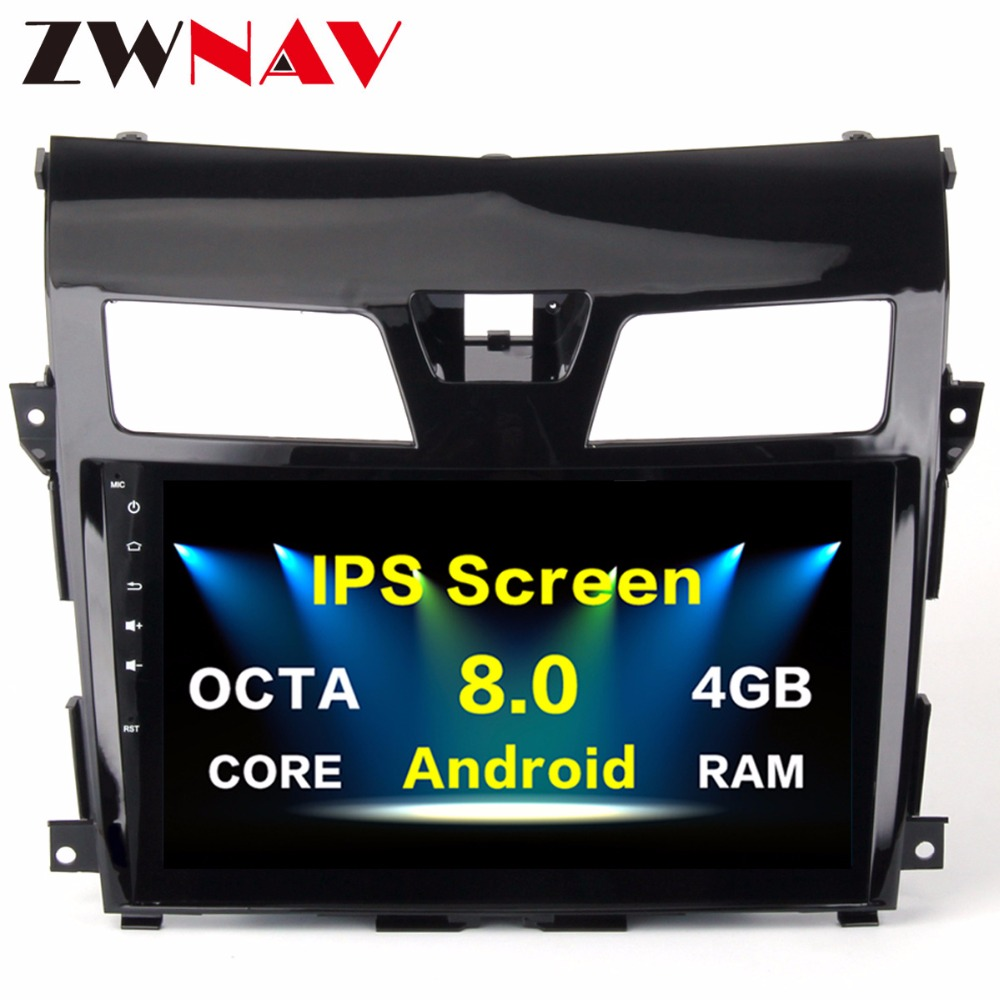 10 2 Inch Android 8 0 Car Media Radio Player For Nissan Teana Altima 2013 2015