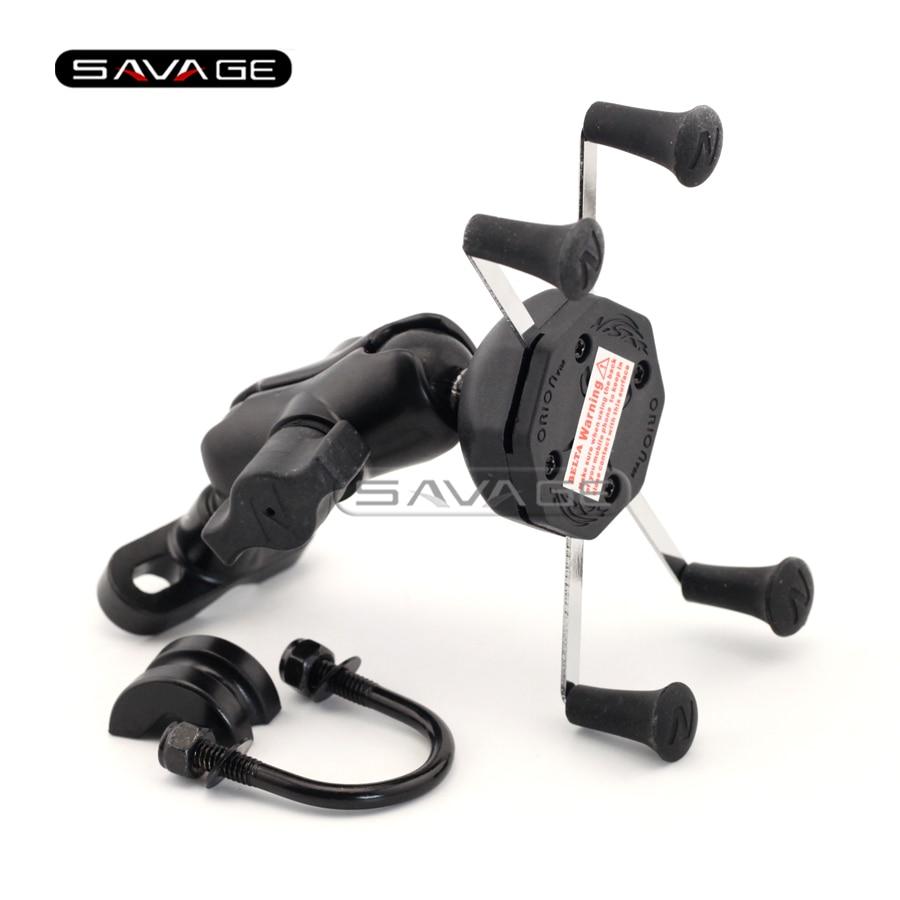 Для Suzuki системы GSX 750/650/600/400 GSX650F/GSX750F GSX750 Katana с Иназума Мото GPS навигации мобильный телефон держателя кронштейна
