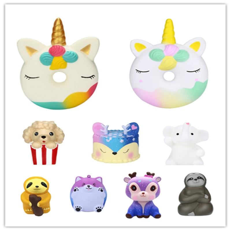 Stressabbau-spielzeug Langsam Rising Spielzeug Squishy Puppe Kind Spielzeug Tier Squishy Langsam Rising Stress Relief Squeeze Spielzeug Für Baby Kinder Süße Duft Spielzeug Vertrieb Von QualitäTssicherung