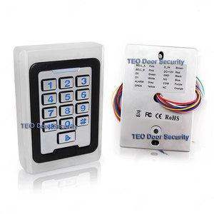 Image 2 - Backlight Keypad  Metal Access 2000 Users 125khz  RFID Access Control System Outdoor Use 9 to 28 Wiegand 26 bit Fast Speed