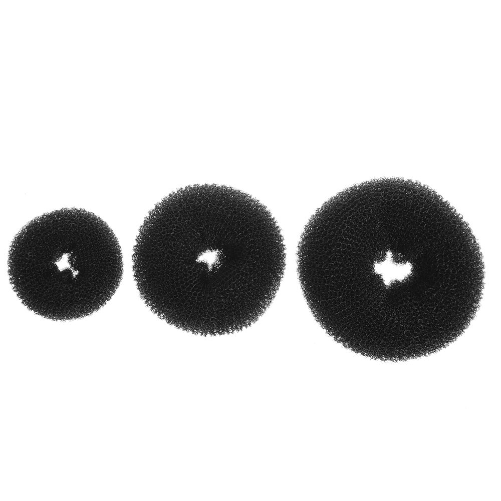 Tremendous New Cute Girls Updo Styling Tools Doughnut Bun Ring Shaper Hair Schematic Wiring Diagrams Amerangerunnerswayorg