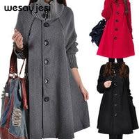 Women winter clothes 2018 cardigan poncho manteau femme Single Breasted autumn clothes women double warm european womens fashion
