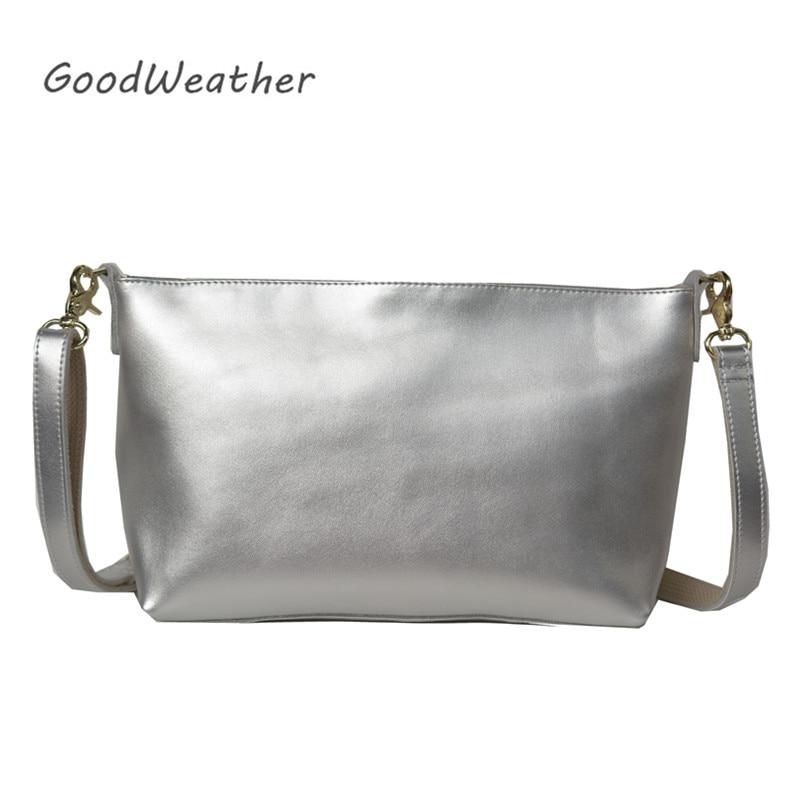 Fashion shoulder bag women designer woman leather handbag high quality luxury silver soft genuine leather shoulder