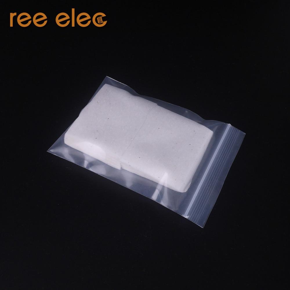 REE ELEC 10pcs Original Japanese MUJI Organic Cotton No Bleach For RDA RTA Atomizer Coil Wick Huge Vapor Pure Taste E-Cigarette