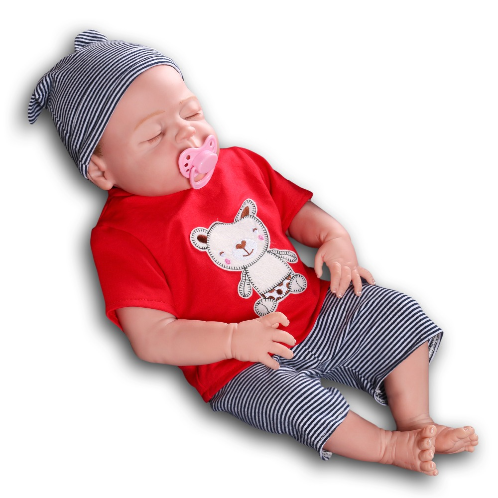 55cm Bebe Reborn Dolls Silicone Reborn Baby Dolls kids Playmate Gift For Boys Girls 21.5 Inch Baby Alive Soft Toy for Kids npkdoll 22 inch 55cm silicone reborn baby dolls with implanted mohair good price playmate christmas gift for children