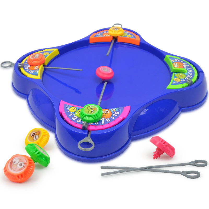 funny Plastic Beyblade Spinning Top Toys battle game family fun parent-child interactive educational Gyro toys Christmas gifts