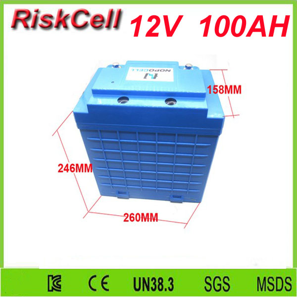 Free customs taxes and shipping 2000cycles lithium-iron battery pack 12v 100ah,deepcycle lifepo4 battery pack 12v 100ah ICR26650