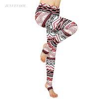 Géométrie 3D Motif Leggings Automne Hiver Push Up Pantalon de Sport Femmes Harajuku Danse Fitness Legging Capris Pantalon