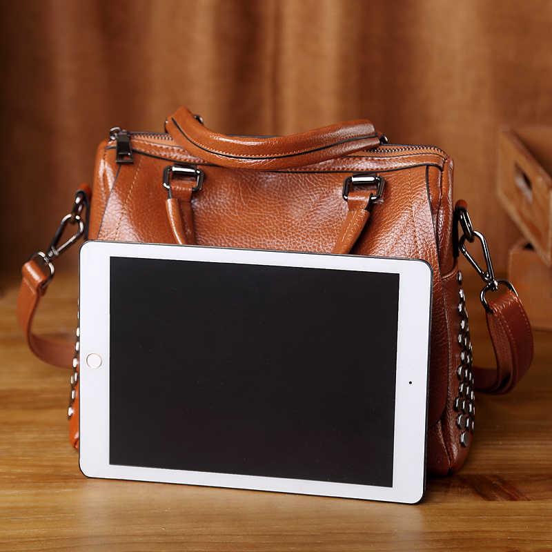 Rindsleder Frauen Leder Handtaschen Aus Echtem Leder Taschen Handtaschen Frauen Berühmte Marken Designer Hohe Qualität Top Handler Taschen Neue T12