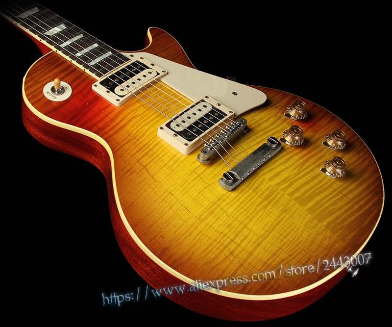 GC Custom Shop Collector's Choice #16 Ed King 1959 Redeye Electric Guitar Kingburst gc collector s choice 8 1959 bernie marsden the beast electric guitar dirty lemon