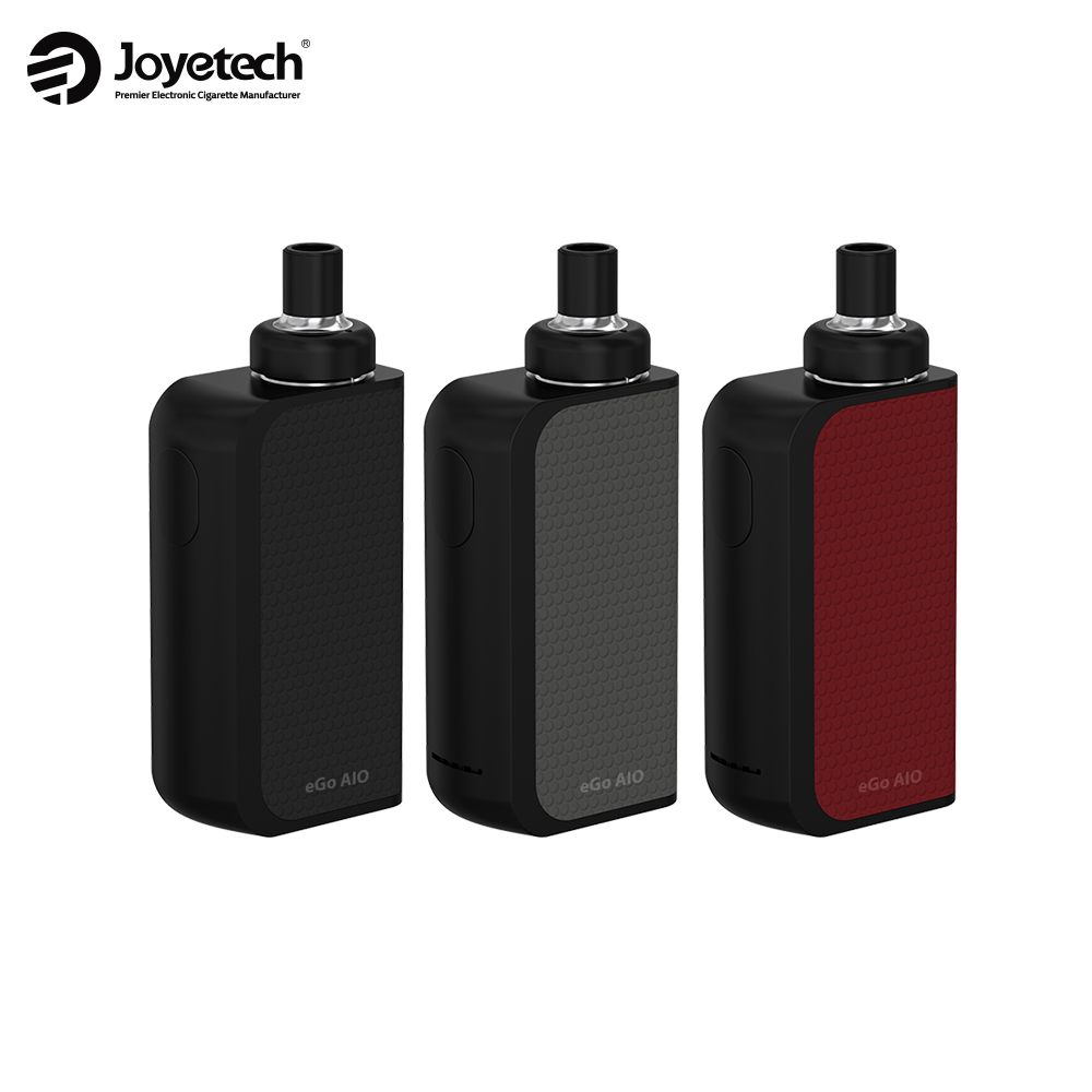 Originale Joyetech EGO AIO Box Kit Sigaretta Elettronica 2100 mAh Batteria Incorporata All-in-one Anti-perdite 2 ml Serbatoio 0.6ohm Bobine