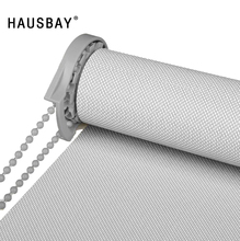 Sunscreen Roller Blinds for Living Room Outdoor Indoor UV Blocking Fire Waterproof Shading Window Blinds for Office JL1003