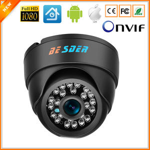 BESDER Indoor Dome Camera Security 1080P IP Camera ONVIF