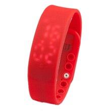 LGFM 3D LED Waterproof Pedometer font b Health b font Watch pedometer Temperature Sports Watch font