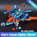 Лепин 14030 Новый Нексу Рыцари Серии Глины Faicon Истребитель Blaster Набор Строительные Блоки Кирпичи Игрушки 70351