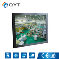 Cheap Price New Parts OEM Aluminum Black 19 Industrial Panel Pc Computer With 1280x1024